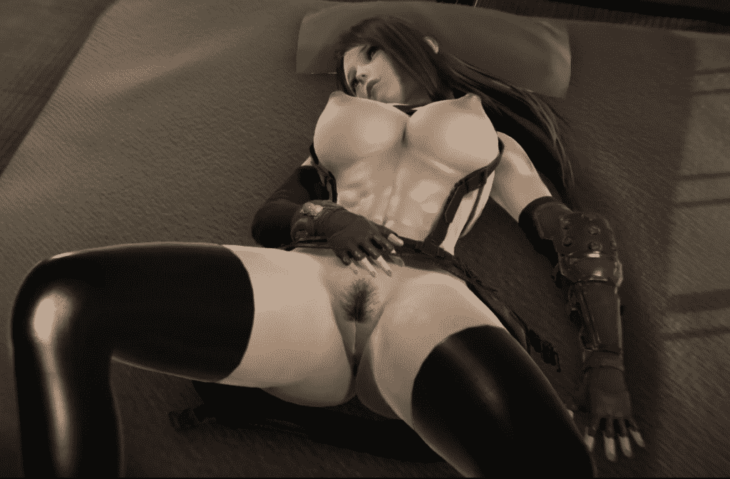 Final Fantasy 7 Tifa Lockhart masturbation 3d porn Final Fantasy pornography