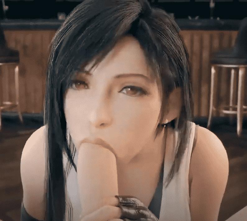 Tifa Sucking Cock Final Fantasy Best videos 3d porn